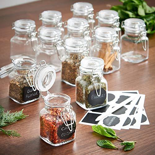 Preisvergleich Produktbild Generic * i Glasdosen für Kaffee / Zucker / Tee,  Mini-Set,  Mini-Glas,  offee / Kuchen,  Töpfe / Gewürze