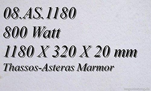 CALEFACCION POR INFRARROJOS–CALEFACTOR DE INFRARROJOS ELECTRICO (MARMOL MAGMA CALEFACCION 800W 08  AS 1180