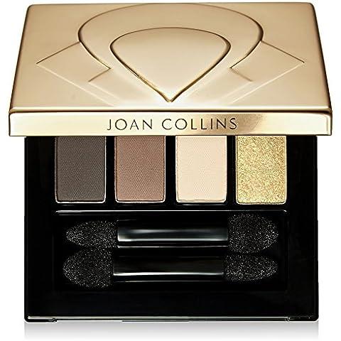 Joan Collins Belleza intemporal Eyeshadow Quad, Moody Browns y Oro 5 g