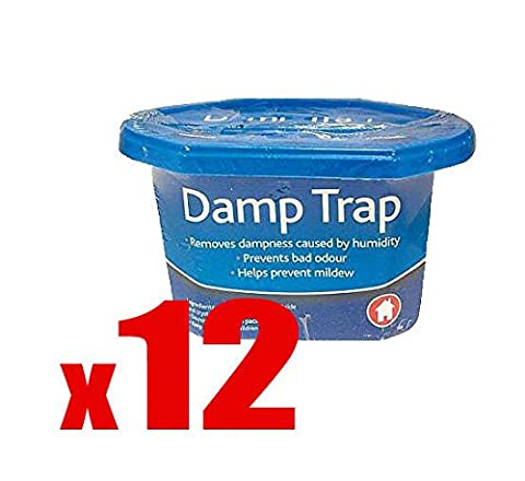 12 X Interior Dehumidifier - Damp Moisture Mould Mildew Trap