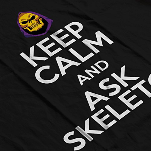 Keep Calm And Ask Skeletor He Man Masters Of The Universe Women's Vest Black