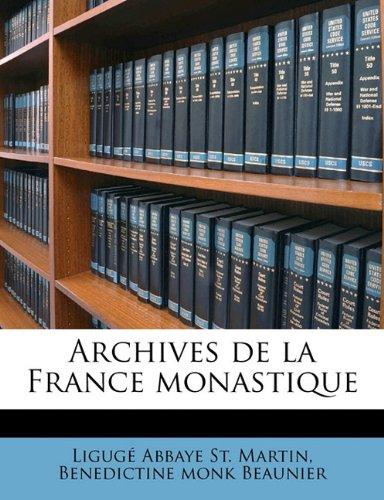 Archives de la France monastique