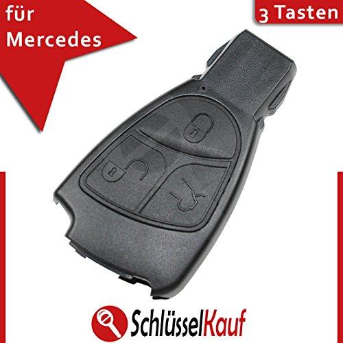 MERCEDES BENZ Schlüssel Fernbedienung Gehäuse Ersatzgehäuse - 3 Tasten - passend für: A B C CL CLK E S ML R Klassen