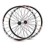 PASAK 700C Ultralight Road Bicycle Wheel Front Rear Wheelset Aluminum Rim C/V Brake