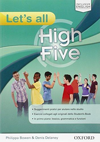High five. Let's all. Per la Scuola media