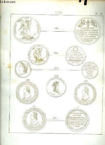 Histoire numismatique de la révolution française. planche n°35 : 1792