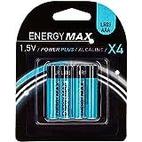 JJA 117408 Power Plus LR03 Lot de 4 Piles