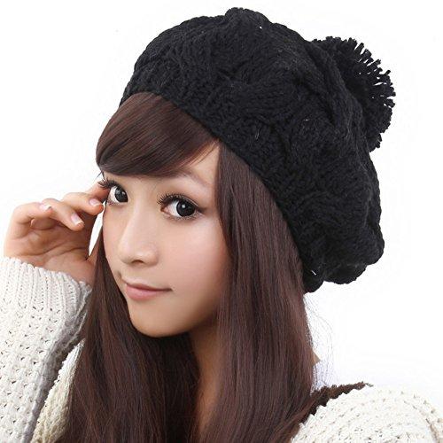 chapeau en laine coréen/Le chapeau chaud féminin/Mode bonnet/Bonnet tricoté G