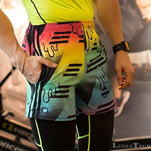 QX-505-Mens-Quick-Dry-Shorts-Running-GYM-Sweat-Running-Shorts