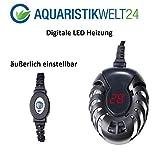 100 Watt digitale Aquarium Heizung bis 200l Aquarien, Heizstab, Heizer, Regelheizer, Süß & Meerwasser