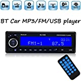 PolarLander del coche de Bluetooth Radio FM estéreo MP3 de audio USB SD AUX Electrónica para los automóviles Autoradio 1 DIN