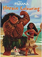Disney Moana: Heroic Colouring