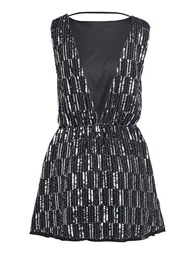 Babeyond Vestito Gatsby Donne 1920s Abiti Vestito Anni 20 Flapper Dress Stile 2