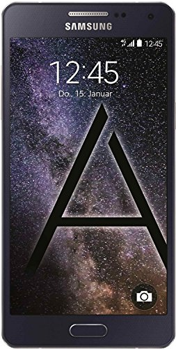Samsung Galaxy A5 Smartphone (5 Zoll (12,60 cm) Touch-Display, 16 GB Speicher, Android 4.4) Midnight black Led-super-multi-dvd