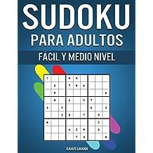 Sudoku Para Adultos Fácil y Medio Nivel: 300 Sudoku para Adultos desde Nivel Fácil hasta Medio con Soluciones y Instrucciones