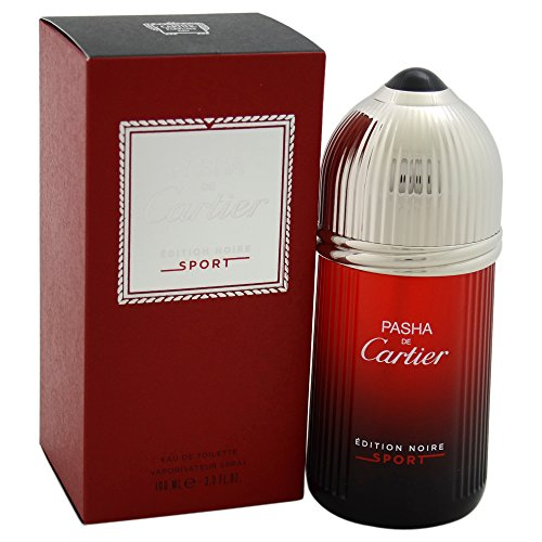 Cartier Pasha Noire Edition Sport EDT, 1 pacchetto (1 x 100 ml)