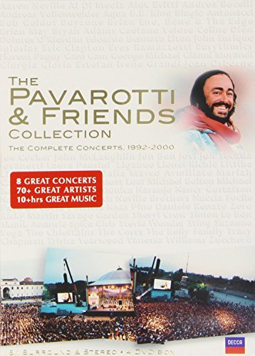 Pavarotti and Friends - The Collection [4 DVDs] Preisvergleich