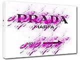 Bild Modern Art Prada Marfa Gossip Girl, Leinwand bedruckt, Dekoration 16–50x 70cm
