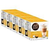 Nescafé Dolce Gusto Latte Macchiato, Kaffee, Kaffeekapsel, 5er Pack, 5 x 16 Kapseln (40 Portionen)
