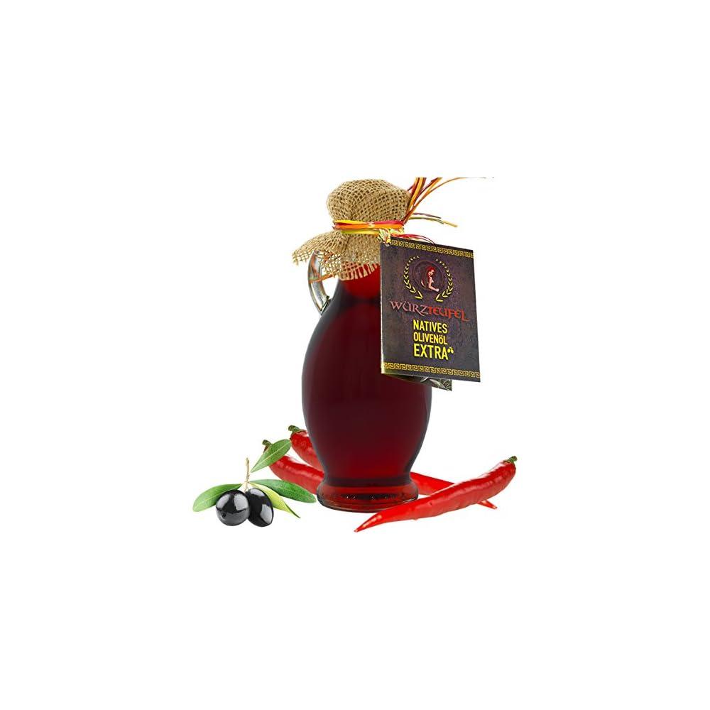 Chili L Hot Chili Olivenl Aus Nativem Extra Vergin Olivenl Griechenland Ungefiltert Kaltgepresst Traditionelle Herstellung Im Familienbetrieb Amphore Irgizia Flasche 250ml