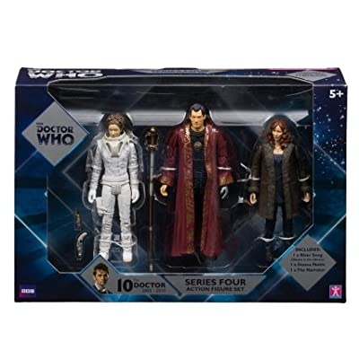 Doctor Who Figure Set 3 Pack - Series 4