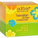 Best ALBA Moisturizers - Alba Botanica Hawaiian Oil-Free Moisturizer, Aloe & Green Review