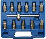 BGS 1017 Universal-Öldienst-Schlüssel-Satz, 12 teilig