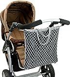 """ASMi Kinderwagen-Einkaufstasche mit Innenfutter """"Clippi All Star"""" grau (40623)"""