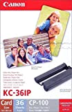 Original Canon Multipack KC 18IF Kc18if for Canon Selphy CP 810–18sheets 54x86mm, 1x Cartridge Coloured (04) 1x Canon Multipack KC-36IP