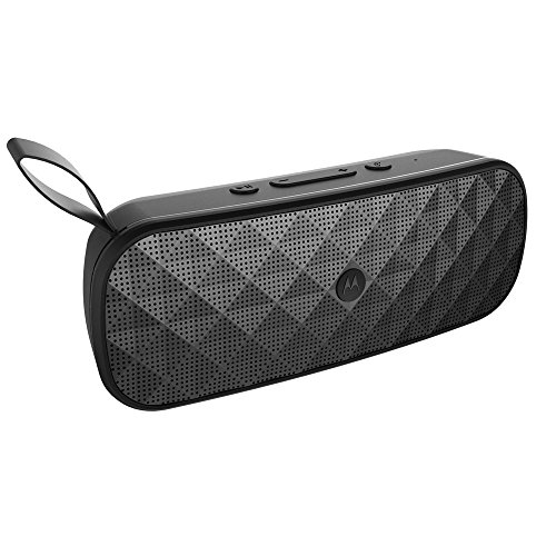 Motorola SP007 BK Sonic Play+ 275 Stereo Bluetooth Speaker with FM Radio & Microsd Card Playback - Black