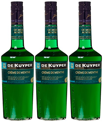 De Kuyper Crème de Menthe Minzlikör Grün (3 x 0.7 l)