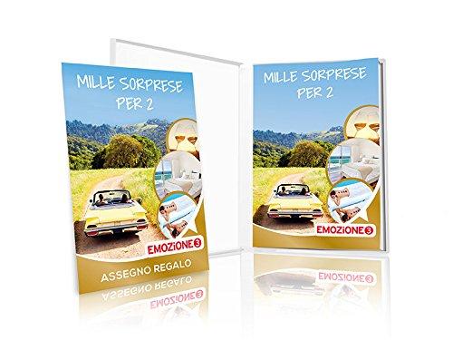 EMOZIONE3 - Cofanetto Regalo - MILLE SORPRESE PER 2 - 7125 soggiorni ...
