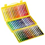 Pastels à l'huile 36 couleurs 48 couleurs 24 couleurs crayons rotatifs solubles dans l'eau enfants sûrs non-toxiques bâton de peinture maternelle bâton huileux huile crayons professionnels