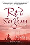 Front cover for the book Red Sorghum by Mo Yan
