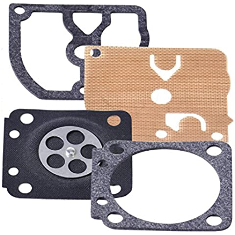 Carburatore Repair kit di ricostruzione a membrana Guarnizione per STIHL HS45 FS55 FS38 BG45 - Membrana Rebuild Kit