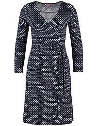 0f6b45d89f451 Anna Field - Robe Longue Cache-Coeur Femme en Jersey - Robe ajustée mi-