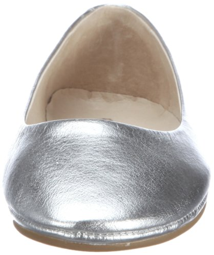 flip*flop easy going lea Damen Geschlossene Ballerinas Silber (907)