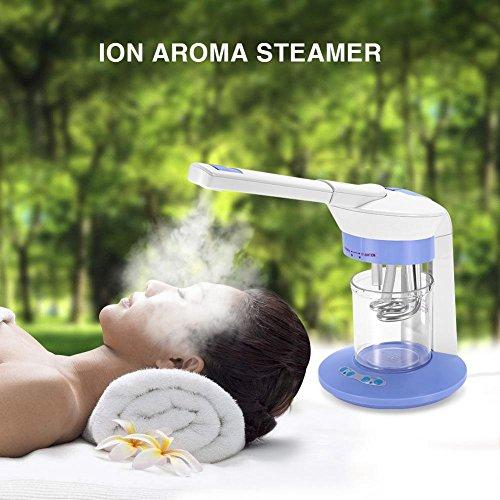 Vaporizzatore facciale,ozono e vapore sauna facciale, macchina di spruzzatura ionica capelli viso sauna casa spa ozono vapori ionico macchina per bellezza nano spray