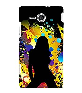 printtech Hot Girl Pattern Back Case Cover for One Plus X