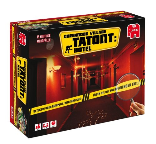 Preisvergleich Produktbild Jumbo Spiele 3929 - Greenrock Village Tatort: Hotel
