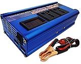 CAM2 500W Inverter di potenza per Auto/Barca/Camper con 2 Porta USB, Car charger e 2 prese universali (500W Modified inverter)