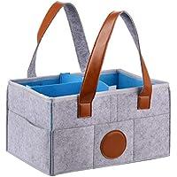 tragbar multifunktional geeignet f/ür Mutter und Neugeborene faltbar Baby-Wickeltasche austauschbares Fach leicht