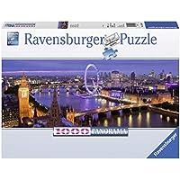 Ravensburger 15064 Puzzle Panorama Londra di Notte, 1000 Pezzi