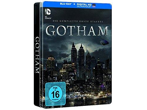 Preisvergleich Produktbild Gotham - Staffel 1 (Limited Exklusive Edition in Tinbox) (4 Disc) [Blu-ray]