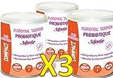 """Saforelle - Florgynal - Tampon périodique Probiotique - Avec applicateur - MINI - Boite de 9 """"Mini"""" - Lot de 3 Boites M"""