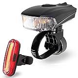 LED Fahrradbeleuchtung Set, FisherMo Nach-Den...