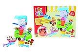 Simba 106329788 - Art & Fun Knetset Eisdiele 4 x 50g 15-teilig