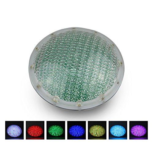 Roleadro 21w Par56 Luz de Piscina con Mando a Distancia, IP68 Sumergible...