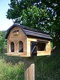 ORIGINAL WILDLIFE GARDEN Vogelhaus FUTTERSCHEUNE natur Schweden Stil Futterhaus Multiholk