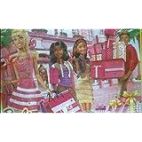 Barbie Toy Fashion Doll Advent Calendar - 24 Surprise Items - Dresses Clothes Shoes Purses Jewellery
